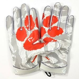 Nike Clemson Tigers Superbad 4 Football Gloves new